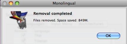 Monolingual feedback window