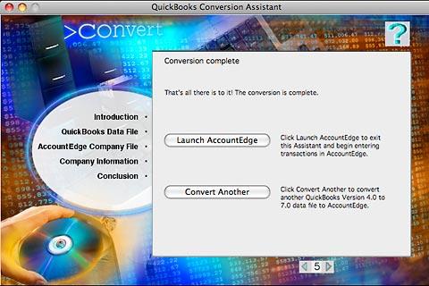 MYOB QB Conversion Completed