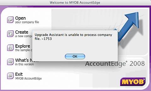 Unable to process file error