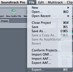multitrack_export_menu
