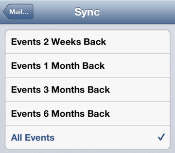 Sync All Events