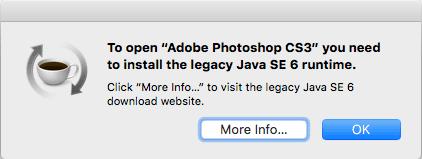 Legacy Java SE 6 Runtime