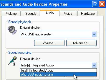 Sound and Audio Device Properties