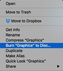 Burn to disk using Sierra 10.12