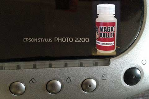 Epson Stylus Photo 2200 and Magic Bullet Solution