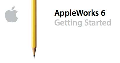 AppleWorks 6 Getting Started Page